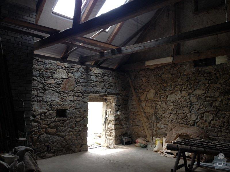Oprava chalupy : stodola