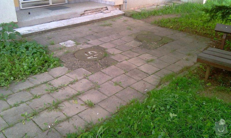 Předláždění bytového chodníku: IMAG1019