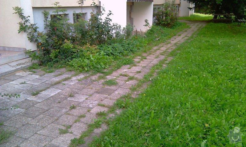 Předláždění bytového chodníku: IMAG1022