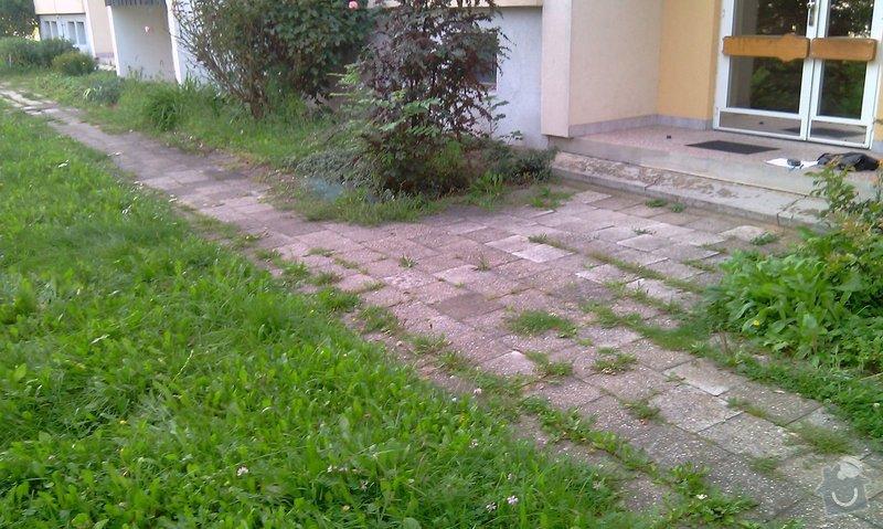 Předláždění bytového chodníku: IMAG1023