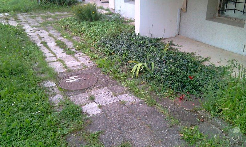 Předláždění bytového chodníku: IMAG1024