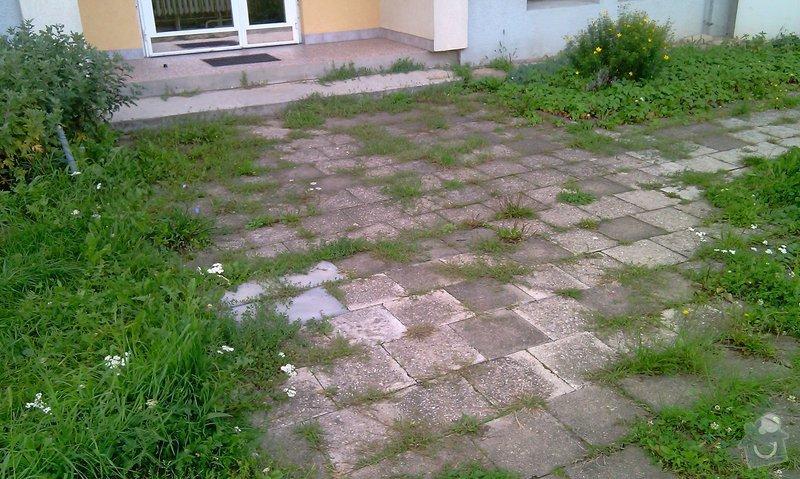 Předláždění bytového chodníku: IMAG1025