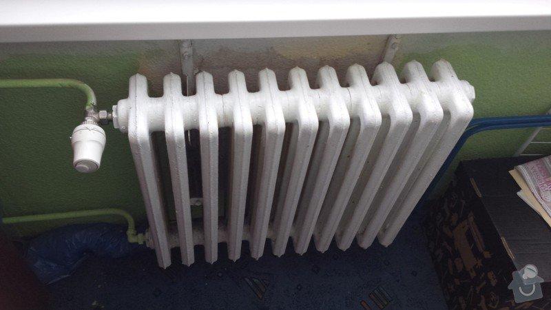 Výměna 2 radiátorů: Detsky_pokoj