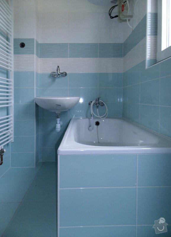 Kompletní rekonstrukce koupelny: 01
