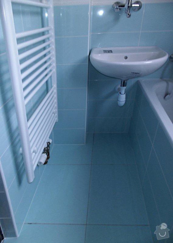 Kompletní rekonstrukce koupelny: 06