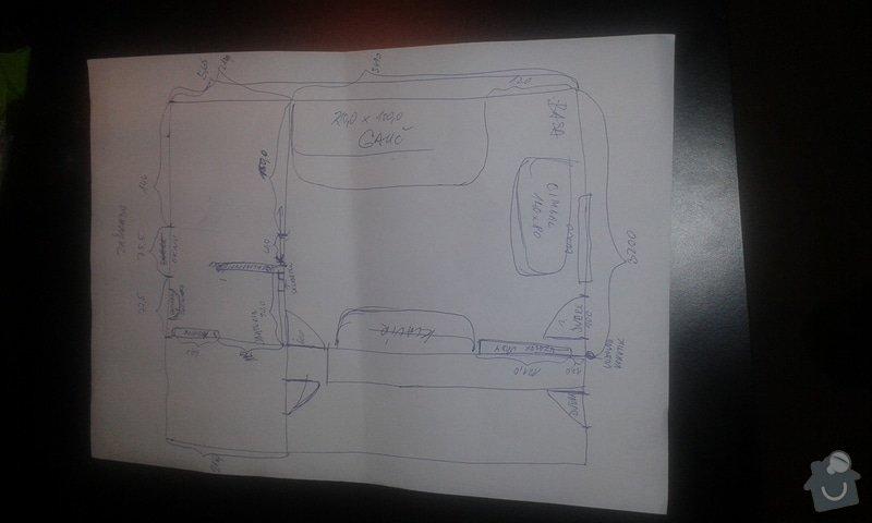Projekt/vizualizace na přestavbu garáže na obytnou místnost: 20140909_203916_1_