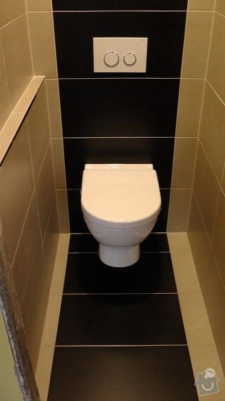 Kompletní rekonstrukce koupelny a toalety: 204-02