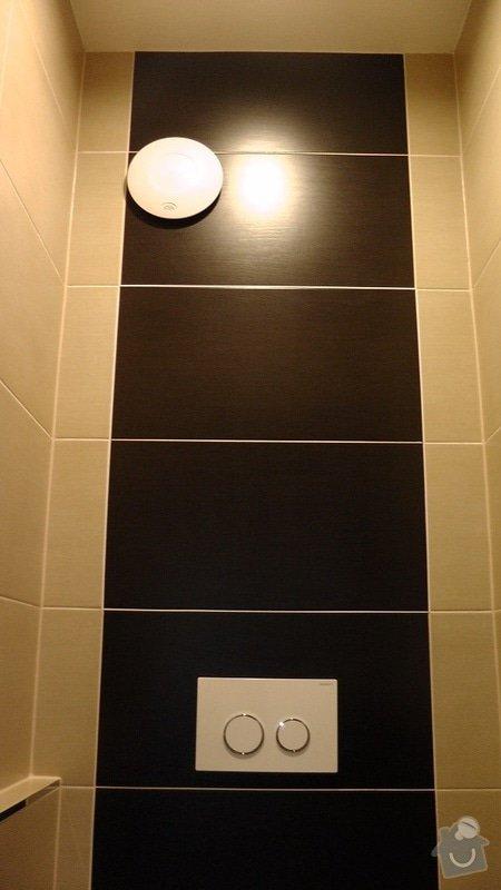 Kompletní rekonstrukce koupelny a toalety: 204-03