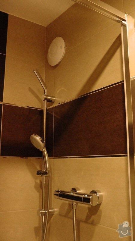 Kompletní rekonstrukce koupelny a toalety: 204-06