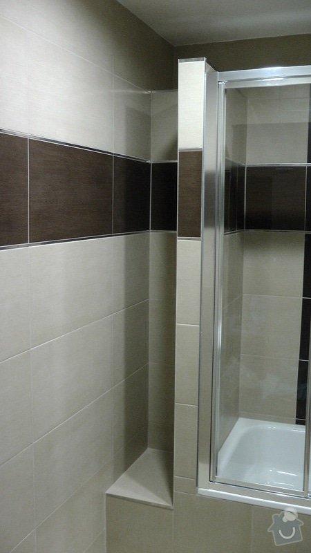 Kompletní rekonstrukce koupelny a toalety: 204-08