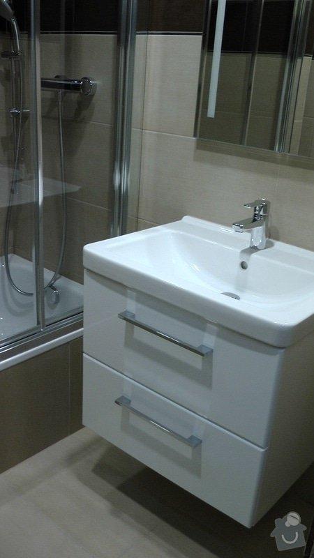 Kompletní rekonstrukce koupelny a toalety: 204-09