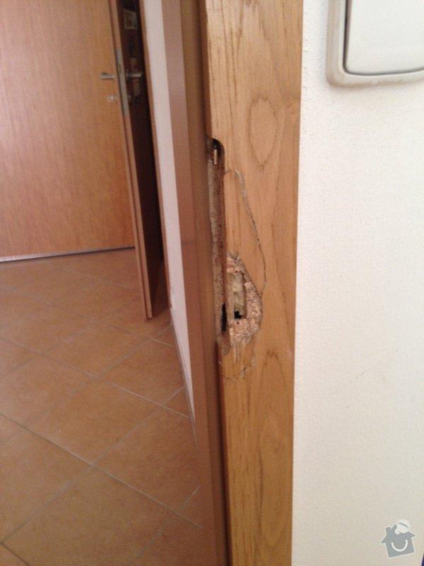 Drobna oprava dveri - truhlarske prace: fotka
