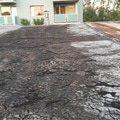 Opravu ploche strechy na garazi poklad asfaltoveho pasu 22m2 20140908 190555