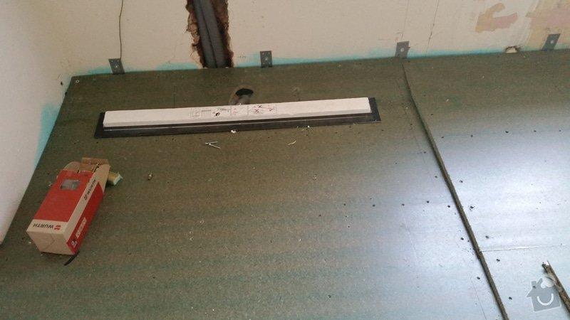 Obložení koupelny a sprchového koutu včetně hydroizolace - podlaha 8 m2 + stěny: 2014-09-07_10.26.29