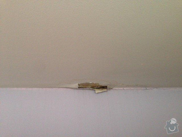 Malířské (chodba podél schodiště v mezonetovém bytě) + drobná oprava stropu: IMG_7305