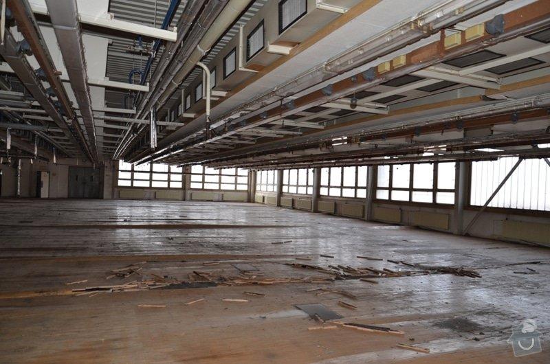Oprava asfaltové podlahy - nový asfalt: DSC_4966