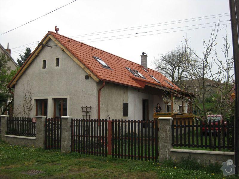 Montáž bleskosvodu na sedlovou střechu chalupy: IMG_3416