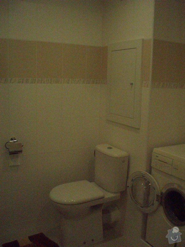 Rekonstrukce koupelny v panelaku: P6103568
