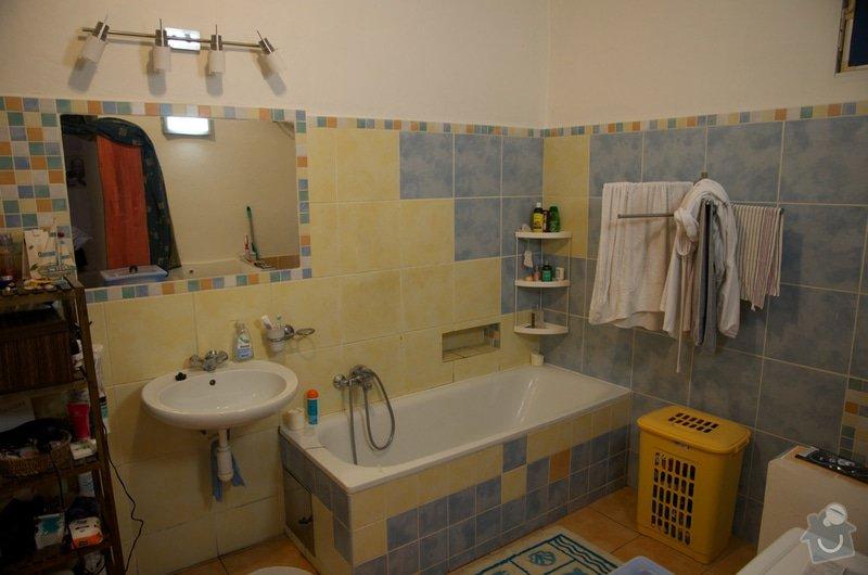 Topenarske a instalaterske prace: koupelna