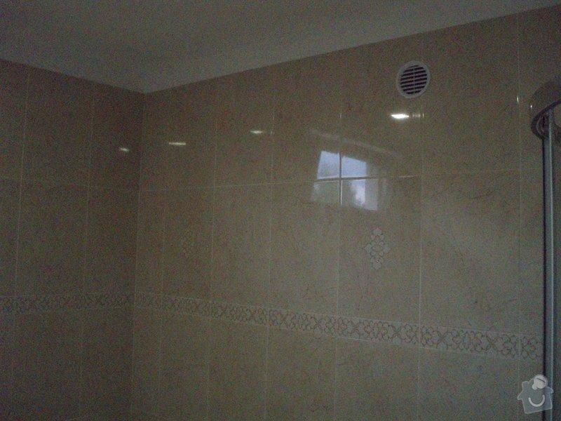 Rekonstrukce koupelny : P8053859