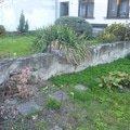 Venkovni betonova zed zed1