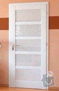 Skládací dveře, dřevěné: dvere