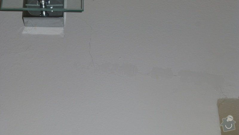 Malířské práce, oprava zdí: P1090240