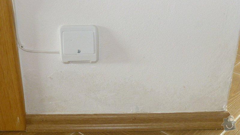 Malířské práce, oprava zdí: P1090239