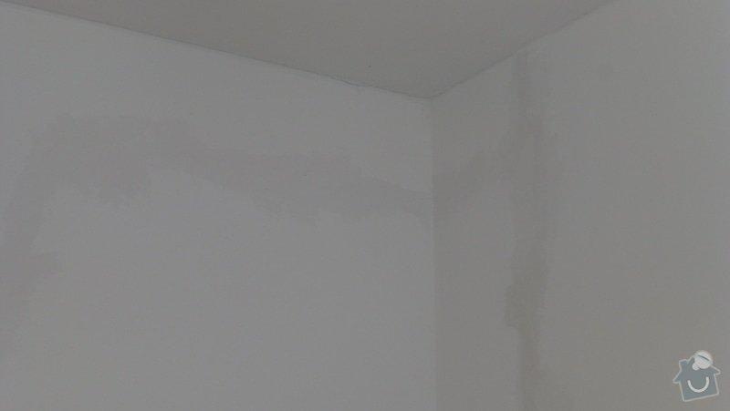 Malířské práce, oprava zdí: P1090238