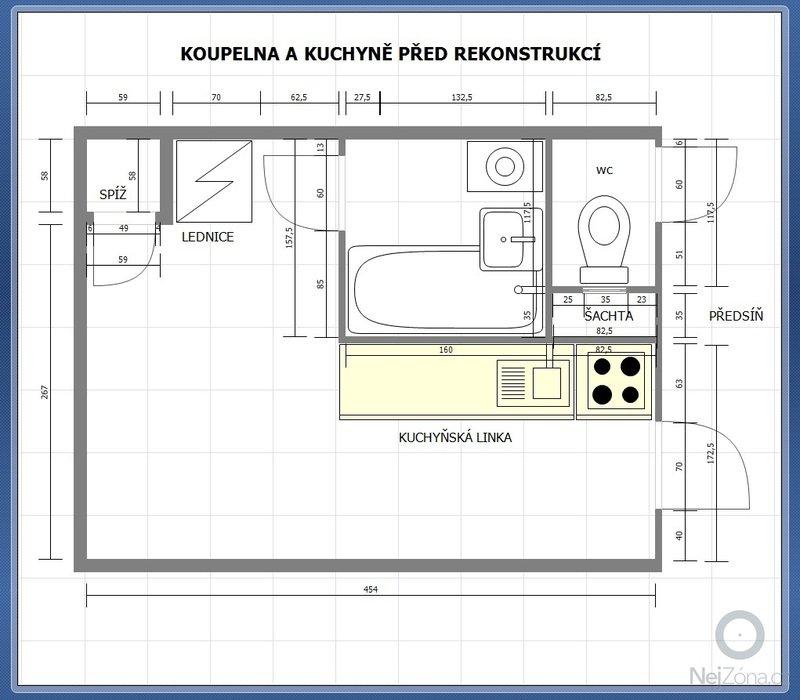 Rekonstrukce bytového jádra v panelovém domě: koupelna_pred_rekonstrukci_JPG