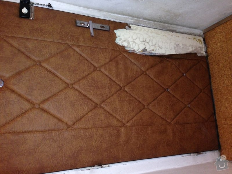 Čalounění vchodových dveří: dvere