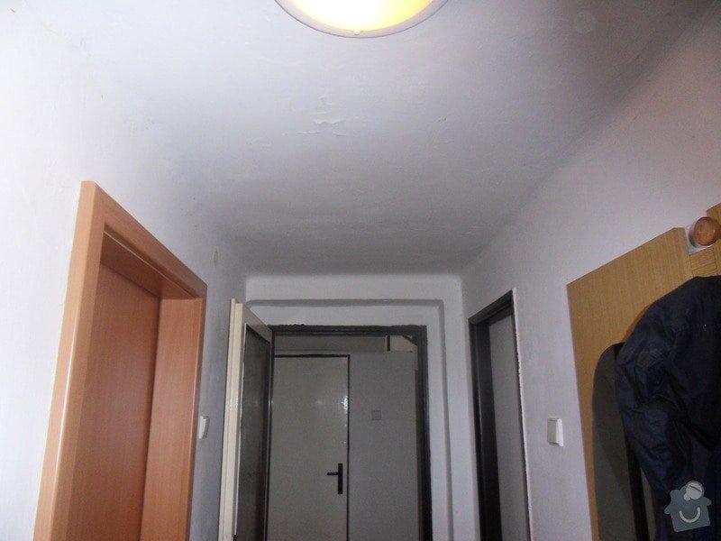 Malířské práce, zednické opravy, alespoň hrubý úklid (chodbička přízemí, chodba schody - 2. patrová, záchod, koupelna, stěna v obývacím pokoji): chodbicka_prizemi