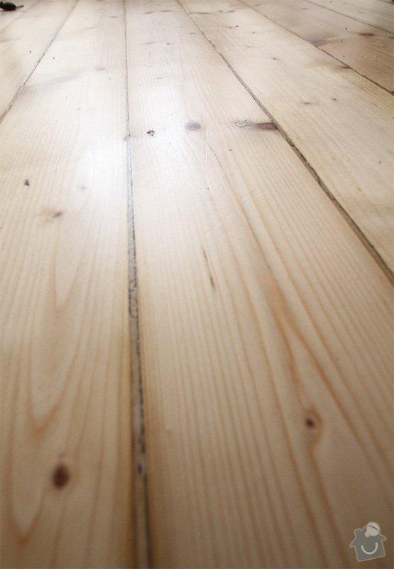 Renovace dřevěné podlahy do 13.9.: podlaha
