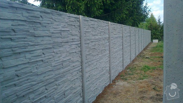Stavba betonového skládaného plotu: PR_Betonoveploty131003-600x340