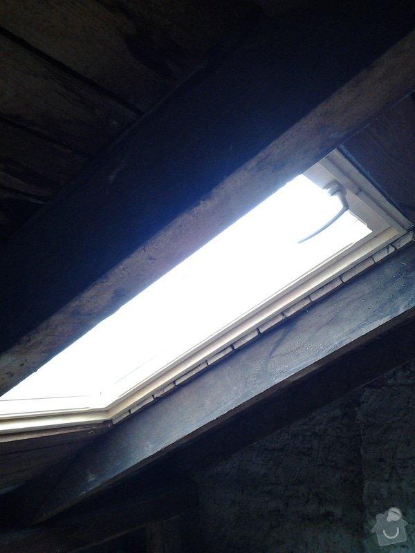 Instalace střešních oken: 20140914_112525