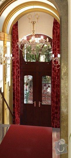 Řemeslnické práce - rekonstrukce vstupních dveří: dvere_-_vizualice