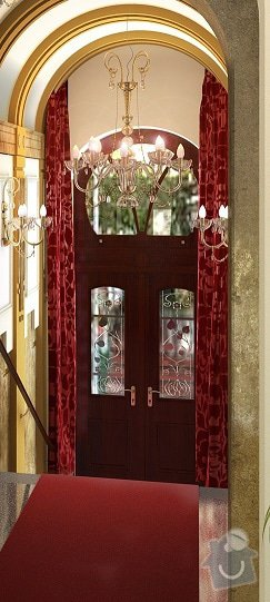 Výroba koberce: dvere_-_vizualice
