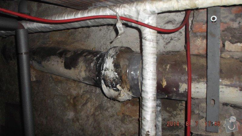 Oprava odpadového potrubí: odpad_v_Chrudimi