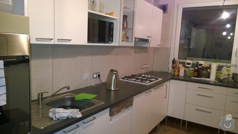 Obložení za kuchyňskou linkou: WP_20140908_004