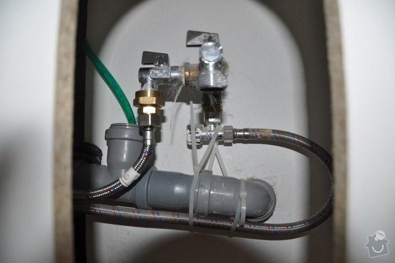 Instalatérské práce - připojení myčky k odpadu: DSC_0667