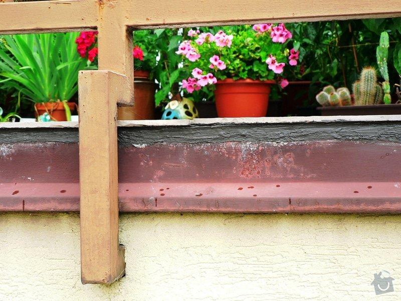 Na terasu u rodinného domku odborné položení izolace Protan GT 2,4mm. : P1450001