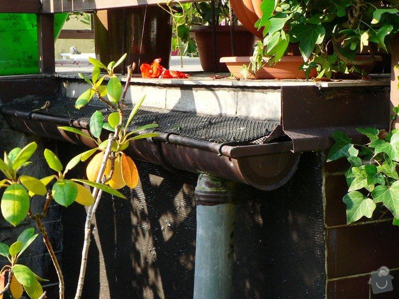 Na terasu u rodinného domku odborné položení izolace Protan GT 2,4mm. : P1580148