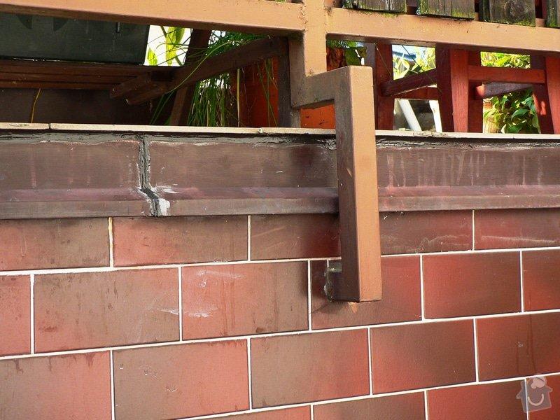 Na terasu u rodinného domku odborné položení izolace Protan GT 2,4mm. : P1580149