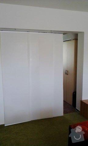Sádrokartonová příčka s otvorem pro dveře: foto1