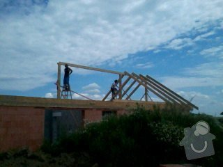Montáž střechy na klíč: 032