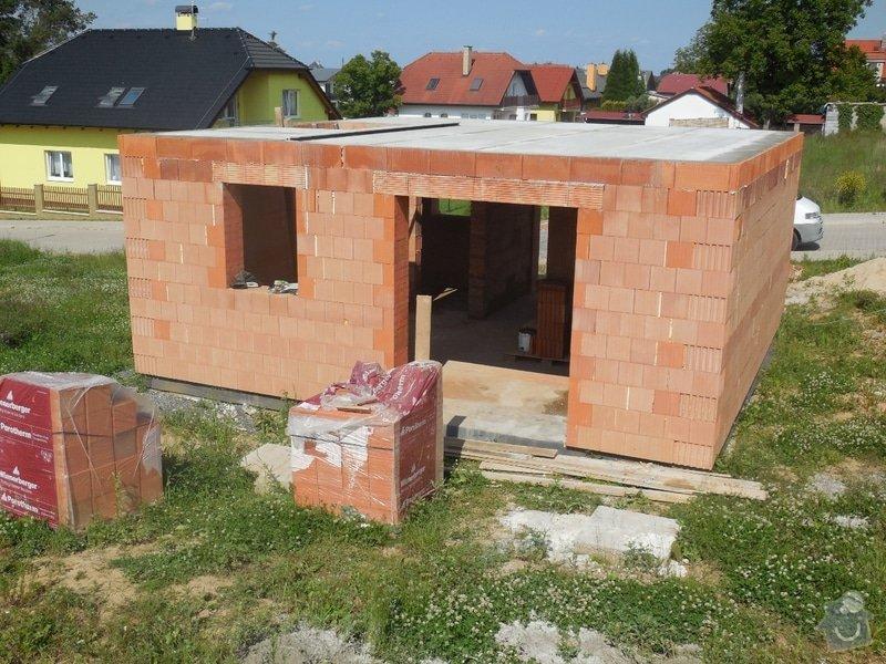 Hrubá stavba rodinného domu: 1_-_1NP