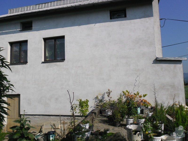Rekonstrukce sklepních prostor při RD,částečně zapuš. v terénu: SAM_0723