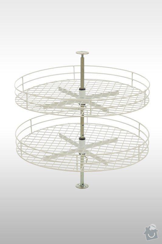 Výroba drátěného otočného stojanu na kořenky: stojan
