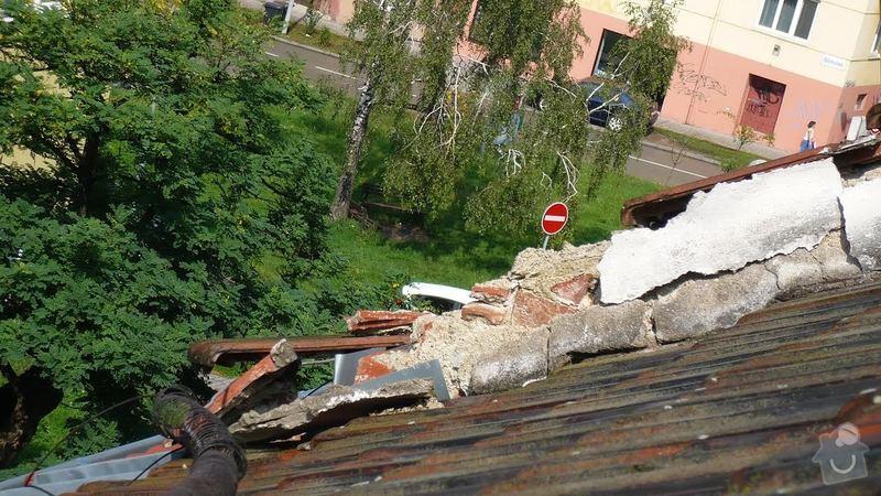 Oprava okraje střechy: poz._zidka_do_ulice