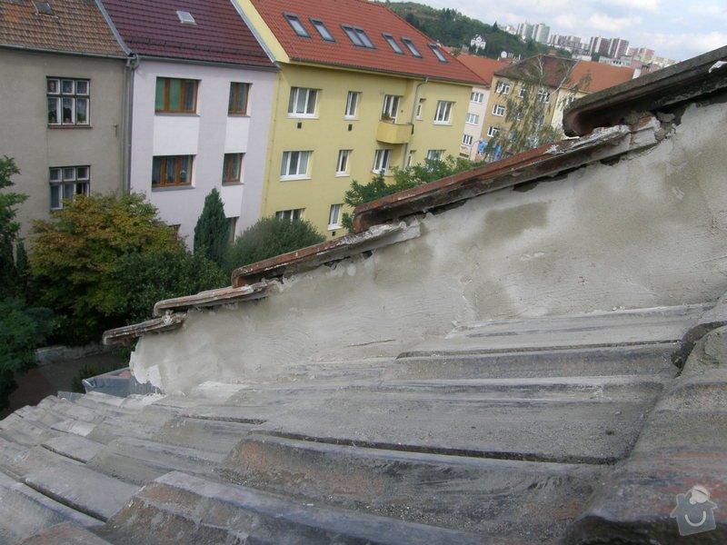 Oprava okraje střechy: pracovni140918_1
